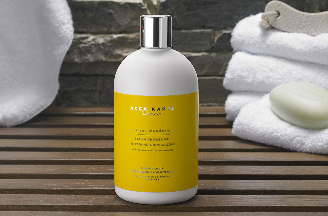 bäst billig fantastiskt urval helt ny Acca Kappa Bath & Shower Gel - Marriott Hotel Store