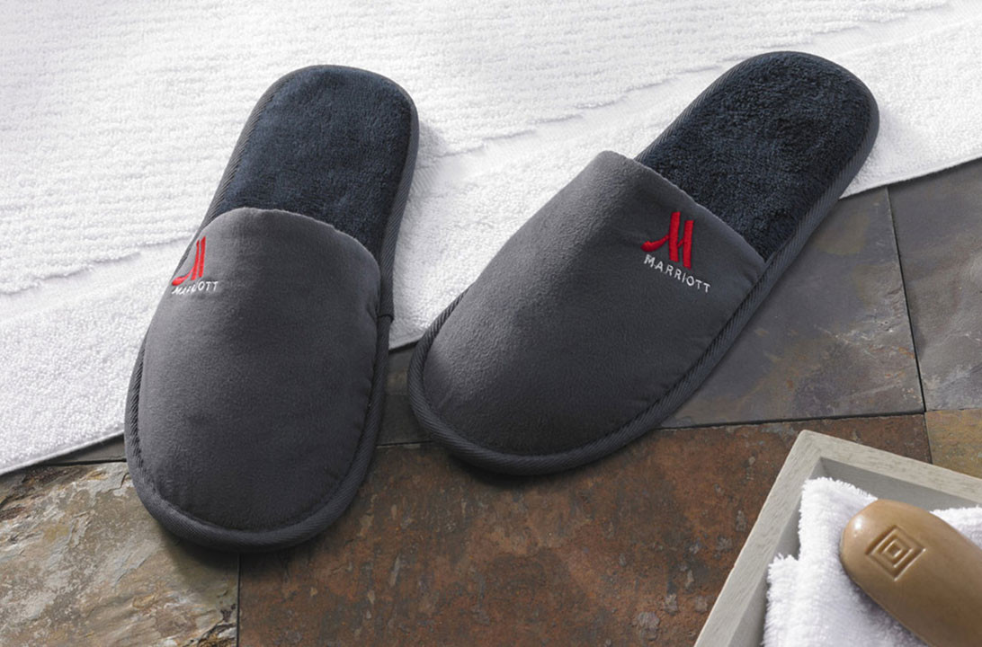 Hotel Slippers Marriott Hotel Store