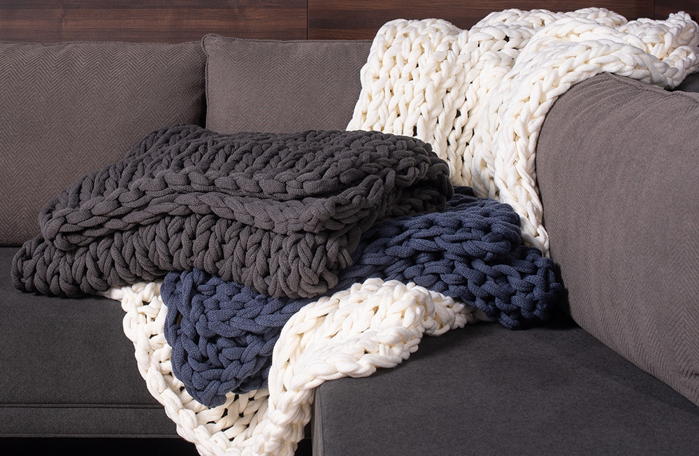 Hygge Throw Blanket Shop Exclusive Hotel Bedding